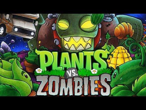 Финальный уровень и мини игры // Plants vs. Zombies #9