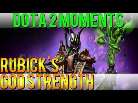 Dota 2 Moments - Rubick's God Strength