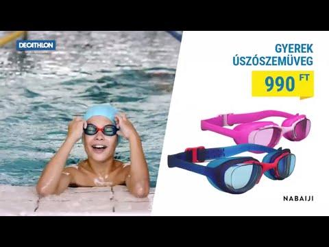 Decathlon Gyerek Úszószemüveg 990 Ft-ért