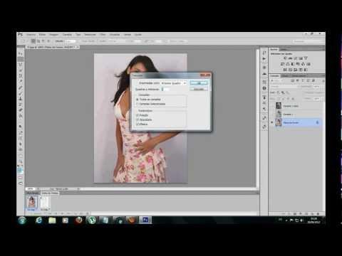 Como Fazer Animação de Uma Foto Virando Desenho Pouco a Pouco Com Photoshop CS
