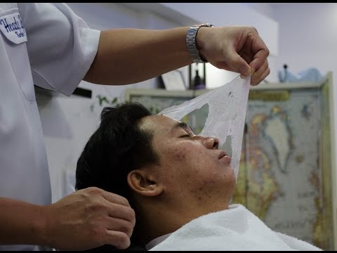 Facial Made Easy at Heads Up Haircutters in Sulimania Riyadh Saudi Arabia
