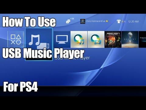 """How To Use """"USB Music Player"""" On PS4"""
