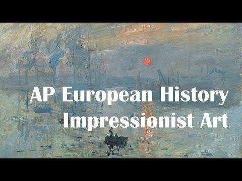 AP Euro: Impressionist Art