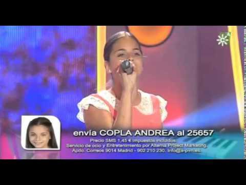 Andrea Pérez- Tres, tres- gala casting Se llama copla junior