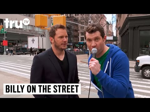 Billy on the Street - Chris Pratt Lightning Round