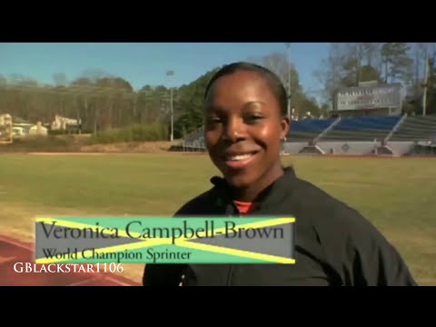Veronica Campbell Brown - Queen Of Sprints 21.74 to 10.76 (HD) 2014