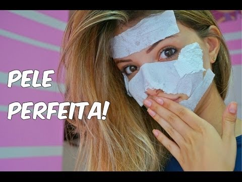 INCRÍVEL e melhor máscara facial caseira!! (contra rugas, cravos, poros abertos)
