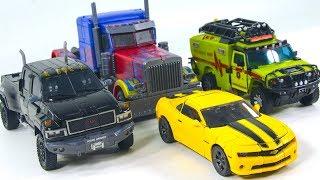 Transformers Masterpiece Bumblebee Ironhide Oversized Optimus Prime Voyager Ratchet Transform Toys
