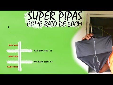 PIPA COME RATO MODIFICADA PARA CAMPEONATOS DE 50CM/ Super Pipas