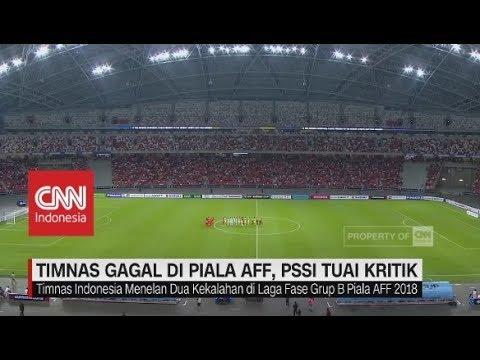 Timnas Gagal Di Piala AFF, PSSI Tuai Kritik