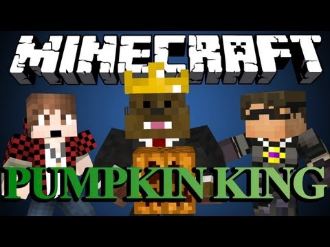 Minecraft PUMPKIN KING (Part 1) w/ SkyDoesMinecraft and BajanCanadian