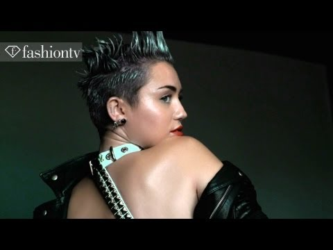 Miley Cyrus For V Magazine Cover Photo Shoot by Mario Testino | FashionTV