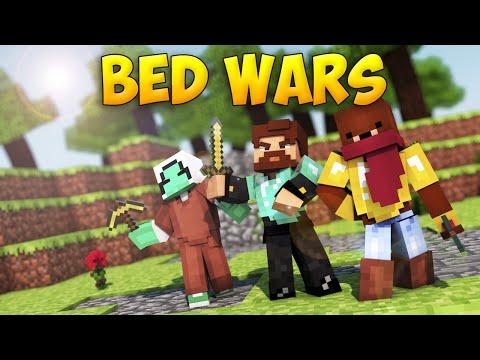Minecraft BedWars #50 - Они нас боятся!