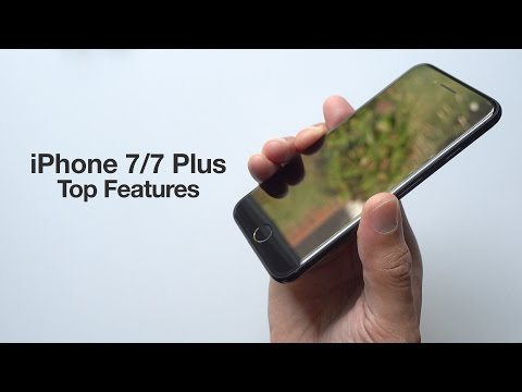 Top 20+ iPhone 7 and 7 Plus features
