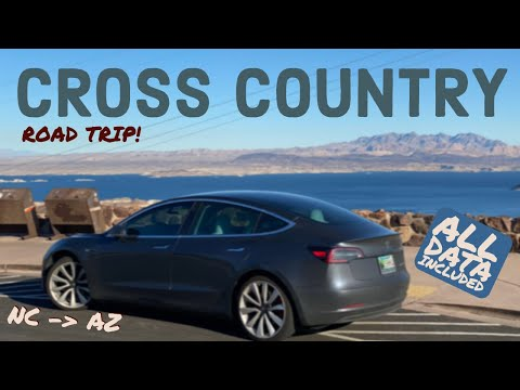 Massive Tesla Road Trip Across the USA in the Model 3 Performance!