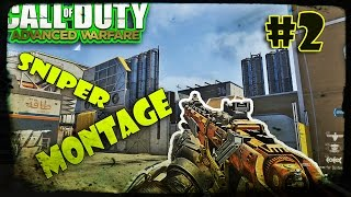CoD AW: Sniper Montage By TGamingK !  Call Of Duty Advanced Warfare Trickshot & Quick Scope