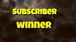 Subscriber winner  | COFFEE with Isa