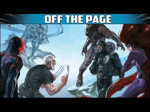 Inhumans and X.Men Prime and Batman Goes Metal. Off The Page