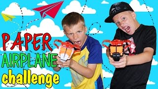 Paper Airplane Launcher Challenge