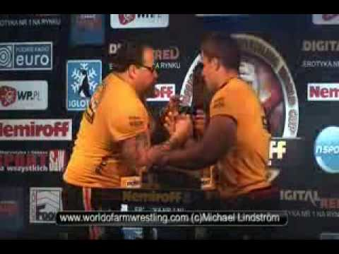 Tim Bresnan VS Denis Cyplenkov - World of Armwrestling.com