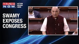 BJP MP Subramanian Swamy exposes Congress' hypocrisy over citizenship debate in Rajya Sabha