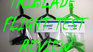 "Triblade 5"" Propellers Test Flight Review!!!"