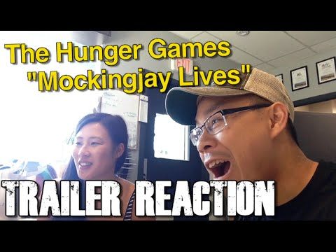 REACTION to Hunger Games Mockingjay Lives Trailer