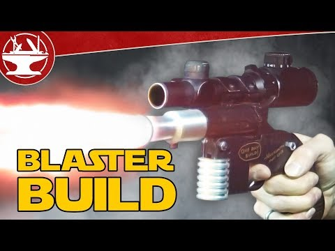 Building Han Solo's Blaster! (IT WORKS)