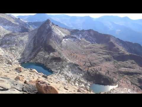 Mineral King Valley - Sawtooth Peak Video