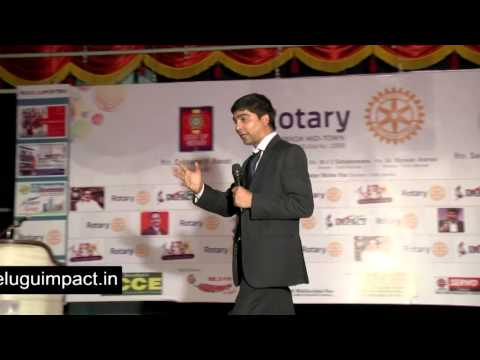 4 Dimensions of Life by  Mr Venu Bhagwan at Vijayawada IMPACT 2014
