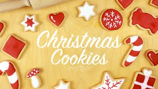 EASY Christmas Cookies Recipe - Cooking with me!