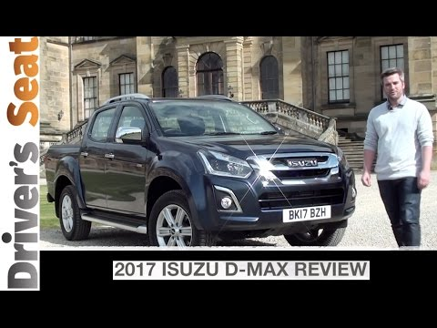 Isuzu D-Max On and Off-Road 2017 Review   Driver's Seat