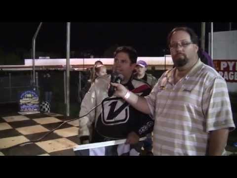 Port Royal Speedway 305 Sprint Car Victory Lane 10-11-14