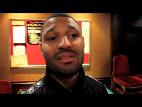 KELL BROOK - 'ME & AMIR KHAN WILL HOPEFULLY FIGHT NEXT YEAR THE WINNER FACES FLOYD MAYWEATHER'