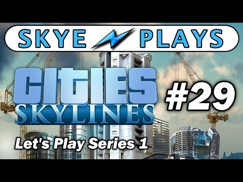Cities: Skylines Lets Play Part 29 ► Hydro Electric Dam and Airport Parking! ◀ Gameplay / Tips