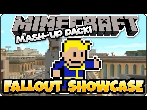 Minecraft TU46 Fallout Mash-Up Pack Showcase & Review - PS3. PS4. Xbox One. Xbox 360 & Wii U Edition