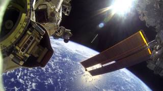 NASA GoPro Footage From EVA 30