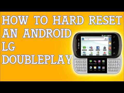 How To Hard Reset A LG Doubleplay Cellphone Factory Settings