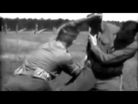 1938 U.S. Army Training Film - Bayonet Training (Full)