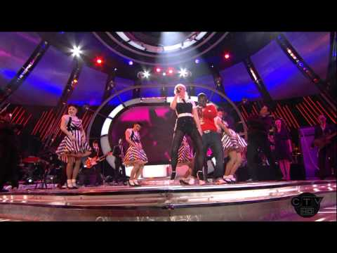 Gwen Stefani ft Akon The Sweet Escape Live American Idol