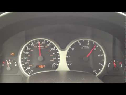 2005 Chevrolet Equinox 3.4L V6 WOT 0-75 ( Slippery Start ) - 116K