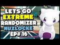 Team Rocket has MEWTHREE! - Pokemon Lets Go Pikachu and Eevee Extreme Randomizer Nuzlocke Episode 16