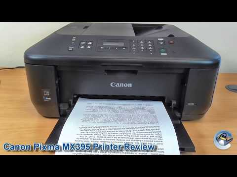 Canon Pixma MX395 Printer Review