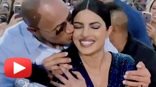 Dwayne Johnson Kissed Priyanka Chopra In PUBLIC | Baywatch World Premiere Miami