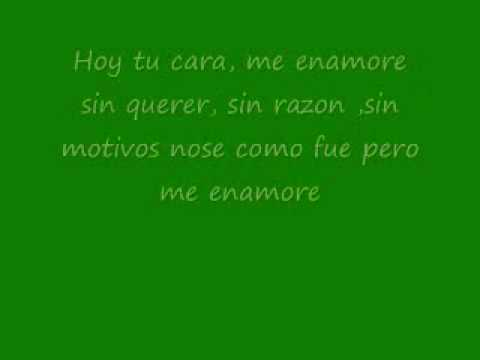Me Enamore- Angel Y Khriz Letra video