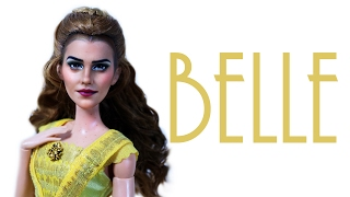 Emma Watson Belle Doll Repaint [ BEAUTY AND THE BEAST ]