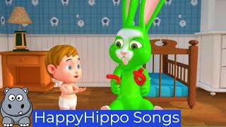 Baby and Rabbit Learn and Play Childrens Nursery Rhymes & Baby Songs Happy Hippo