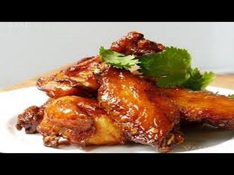 Как замариновать куриные крылышки.   How to marinate chicken wings.