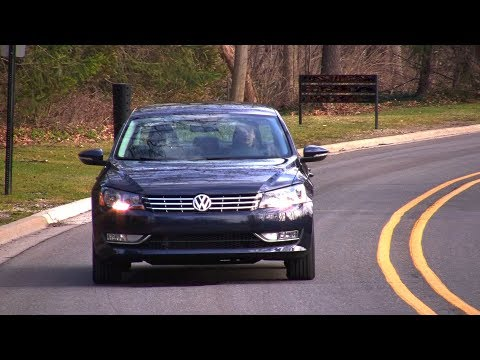 2012 Volkswagen Passat Start Up, Test Drive, and In Depth Look