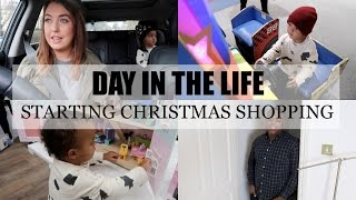 DAY IN THE LIFE | CHRISTMAS SHOPPING | BELLES BOUTIQUE